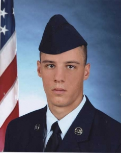This is my sweet boyfriend, Joe. He is in the United State Air National Guard and my personal hero. - Ilea Wilson