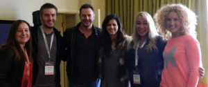 Little Big Town, (minus Phillip with the flu).