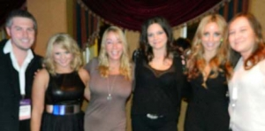Ok... i know this pic is blurry (not our fault) but COME ON! Miranda Lambert along with the other Pistol Annies? AAAHHH-mazing