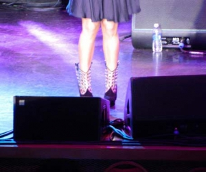 ...her AMAZING boots!!!