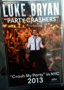 Can not get enough of this handsome man. We definitely crashed his party in NYC!!!