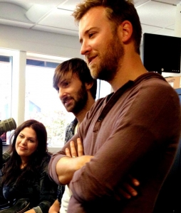 Hillary, Dave, and Charles from lady Antebellum, loved hangin with you guys!