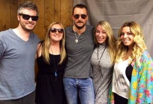 The man!!!!! Eric Church well of course we'll chit chat with you tonight