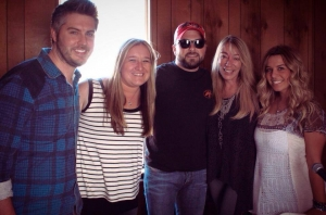 That time you almost didn't come see us Tyler Farr, but here at The Big Time we tend to slightly stalk our favorites! Because we're at Stagecoach, that's why!