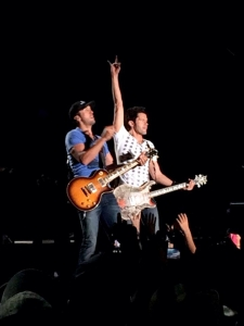 Luke Bryan hitting the stage for Day 3 of Stagecoach... The Perfect Ending to a great weekend, however, it's going to be a long recovery week for the rest of us!