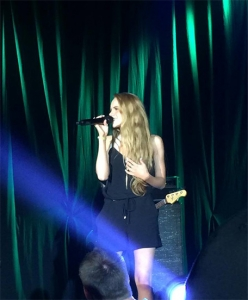 Danielle Bradbery singing Young in America, while in Mexico...