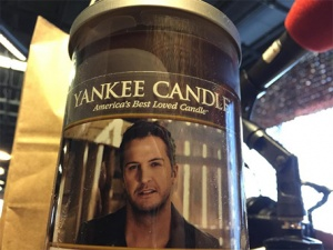 Luke's REAL candle! Wonder if it smells like him...