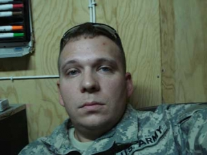 SPC Christopher Pettibone of the United States Army  Deployed to Iraq with the 3rd ID out of Fort Stewart