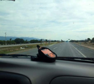 This is Spot. Spot is our GPS tracker so Jackie and Mike can know where we are at all times.