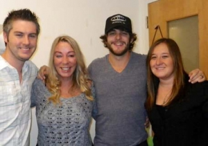 Thomas Rhett stops by!