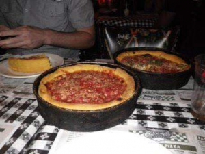 MMMmm! Chicago Deep Dish Pizza!