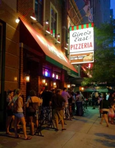 Classic Chicago food: Gino's!