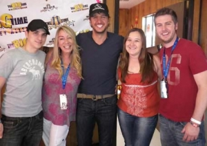 Luke Bryanjust KILLLED it STAGECOACH!! (and threw in a little Adele too!!)and another guest on The Big Time!!